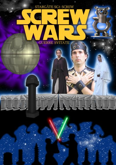 Poster of Screw Wars